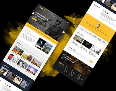 Factory & Industrial website design-Download