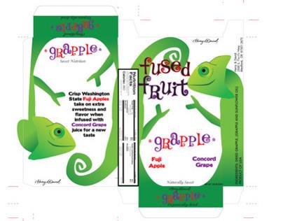 Fused Fruit packaging