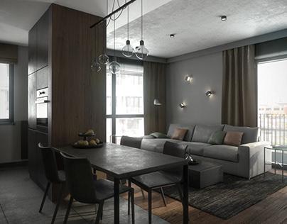 Apartment in Żoliborz