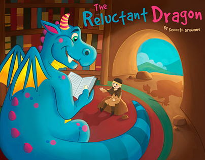 The Reluctant Dragon Book Cover