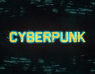 Cyberpunk Glitch Freeze Frame