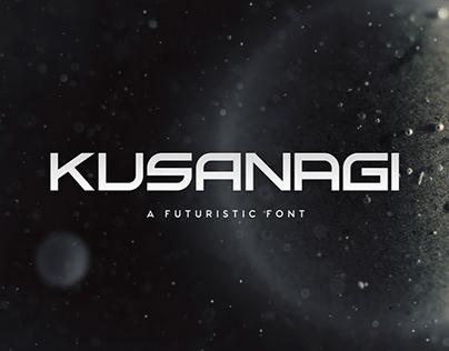Kusanagi - Futuristic Font
