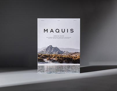 Maquis magazine Vol.01