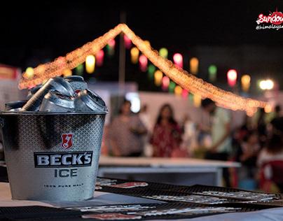 Becks's Ice Beer Creative Product Shoot