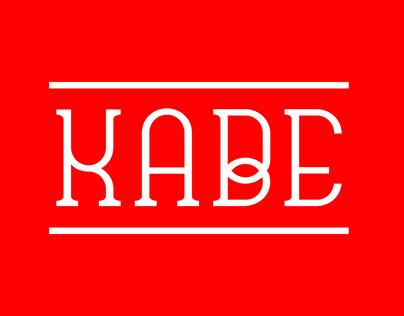 Kabe / Font Free