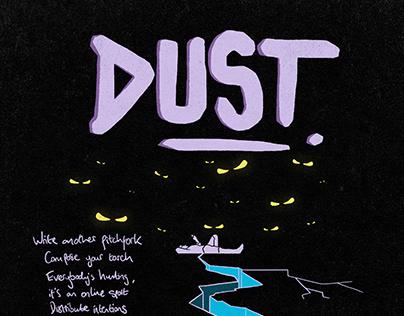 'Dust' Lyric Poster // Superego