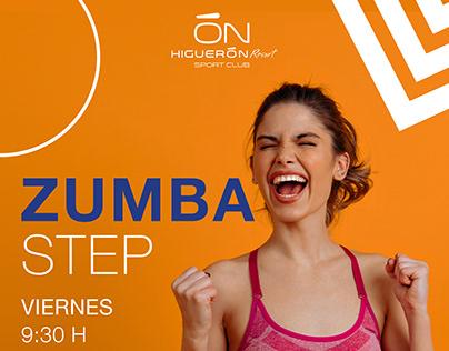 Zumba class poster