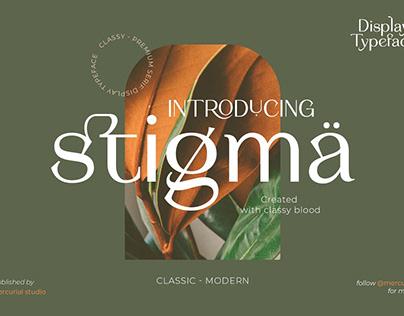 Stigma - Display Serif Font