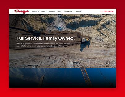 Cougar Companies Website