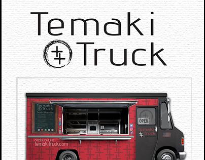 Temaki Truck Brand Identity