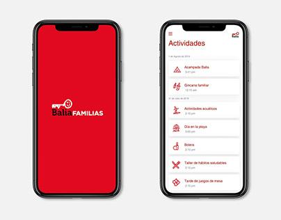 Balia Familias   App UX/UI