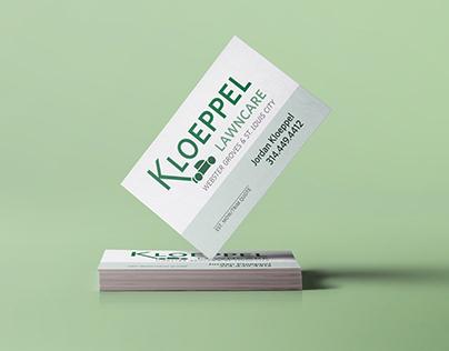 Kloeppel Lawncare Branding
