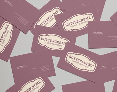 Buttercreme Branding Identity and Menu Design