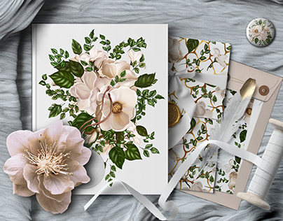 Nude Flowers Clipart