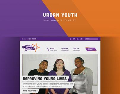 Urban Youth | Web design