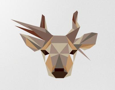 Jelenia góra - jelenia dół (aka Crouching Stag)