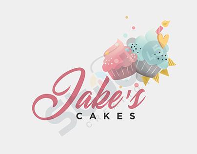 JAKE'S CAKES / LOGO