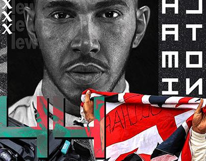 Lewis Hamilton - 44