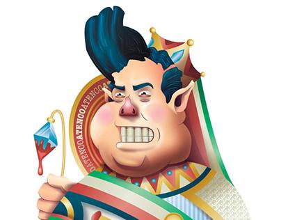 El Gasolinazo: Political Illustration