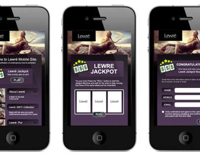 Mobile and Website Interface
