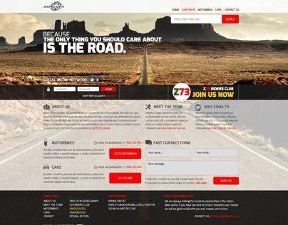 Zona 73 corporate website