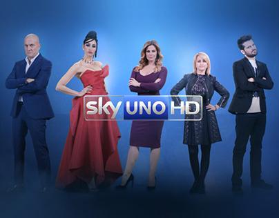 IDENT - Sky Uno - Italia's got talent - 2015