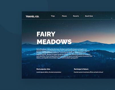 A Web UI   Travel Co.