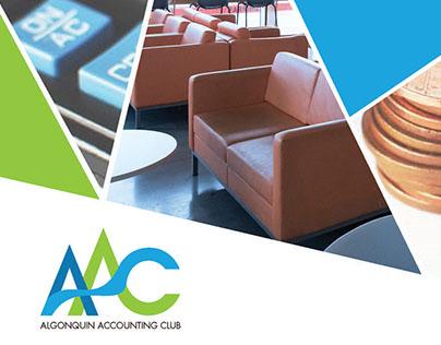 Algonquin Accounting Club Logo Design