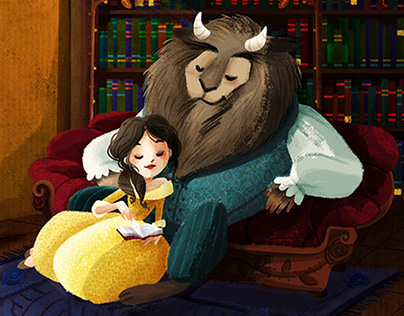 """""""Beauty and the Beast"""" personal project"""