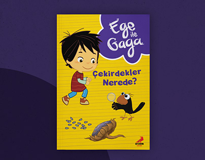 Children Book Cover Design | Ege ile Gaga