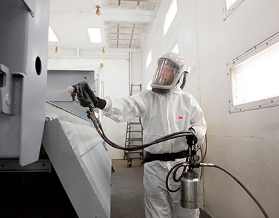 Voltaire PPS Paint System - photo shoot for 3M