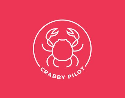 CRABBY PILOT | Logo