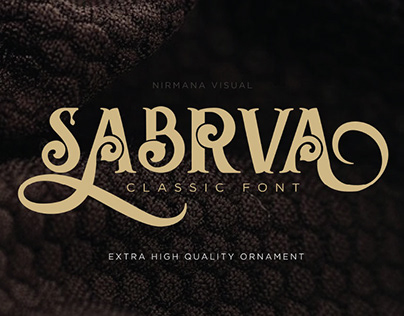 Sabrva Classic Font