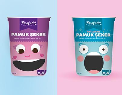 Pamuk Şeker Paket Tasarımı - Cotton Candy Package