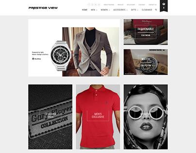 Prestige View Online Store