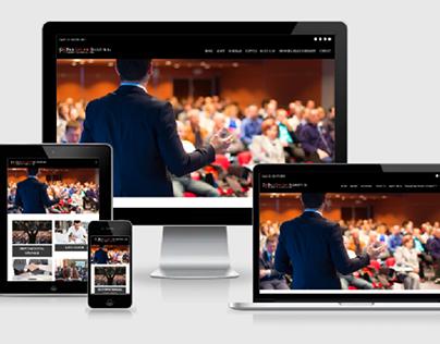 Speaker Logo Design & Web Development