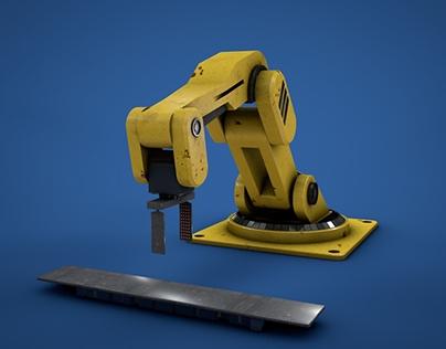 Robot Arm - 3D animation