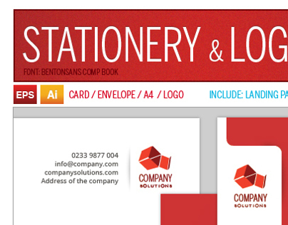 Stationery & Logo Pack