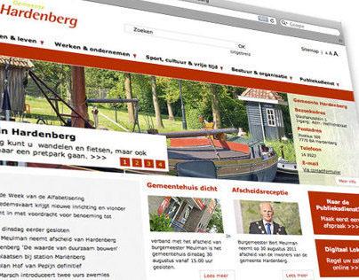 Gemeente Hardenberg website