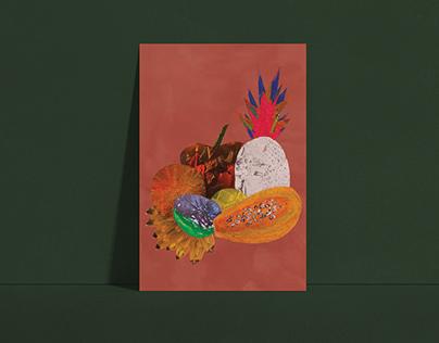 Colagem Natureza Morta