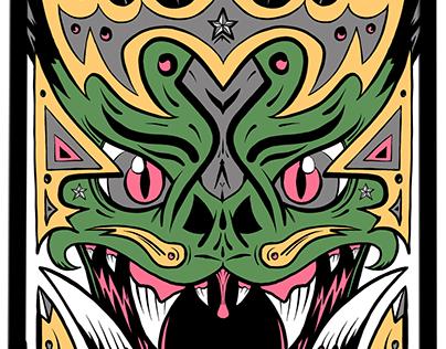 Orc King Print Design