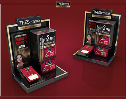 Tresemme Shampoo Counter top Display