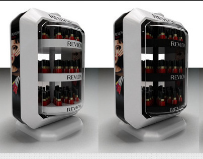 REVLON-Nail product exhibition