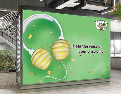 Cracky Snacks outdoor advertisment ads