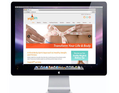 YogaLift Identity and Website Redesign