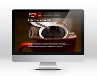 Coffee Lovers | Responsive Website