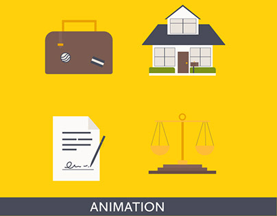 Lottie Vector Icon animation for Cromwell Law PLLC