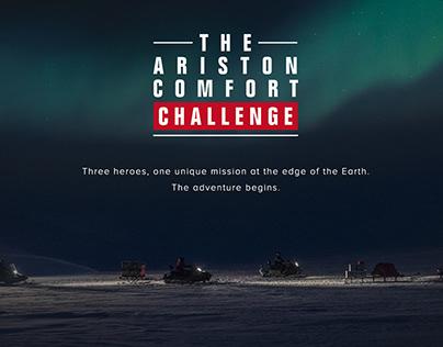 Ariston Comfort Challenge - campaign website