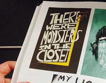 6 Word Memoir Poster