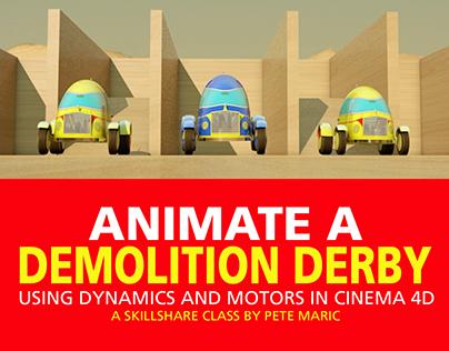 Animating 3D Text in Cinema 4D | Skillshare Class on Behance
